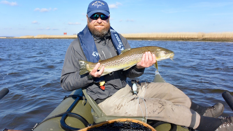160319 guide kanal kent seatrout