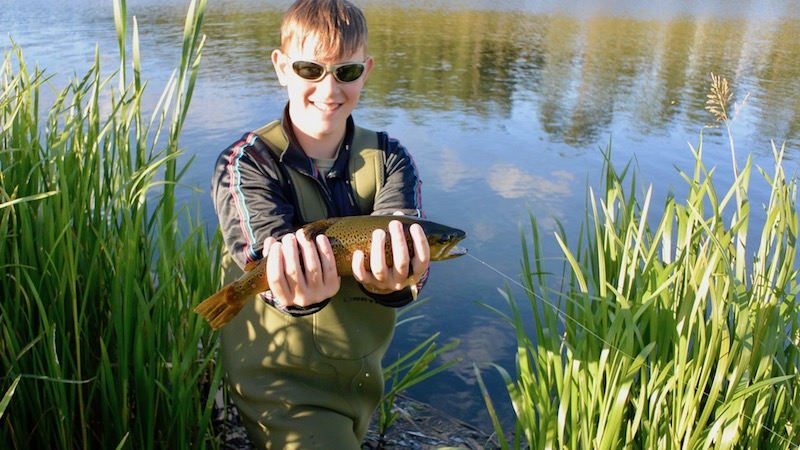 170730 milldam rasmus brown trout